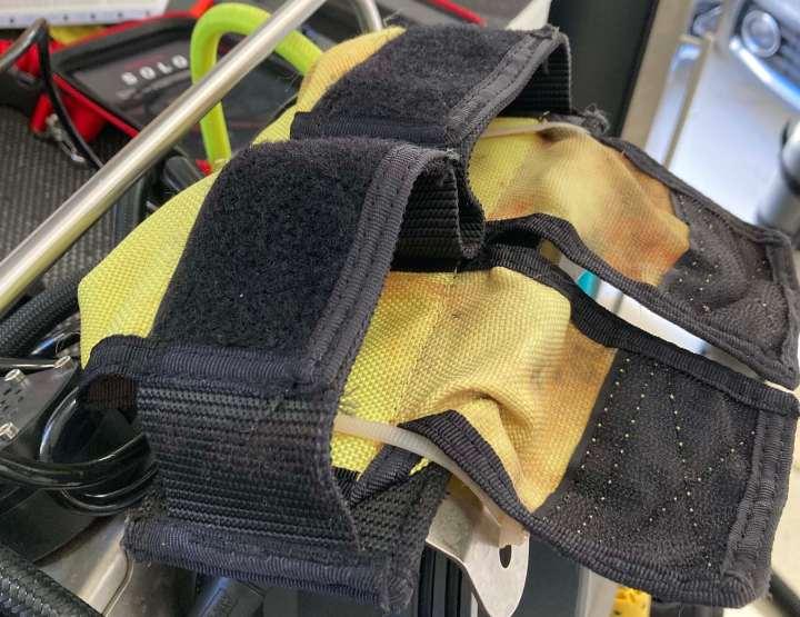 Replacing the standard rEvo WeightPouch