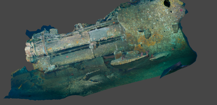 Photogrammetry – Part 3 (UB88 Project Dive 1/2)