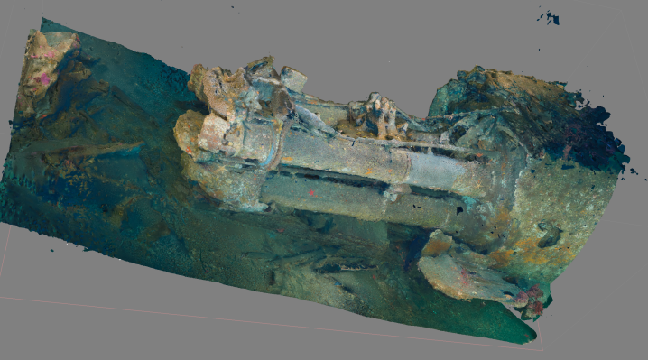 UB88 Photogrammetry Project – Dive 3 (Torpedo Tubes)