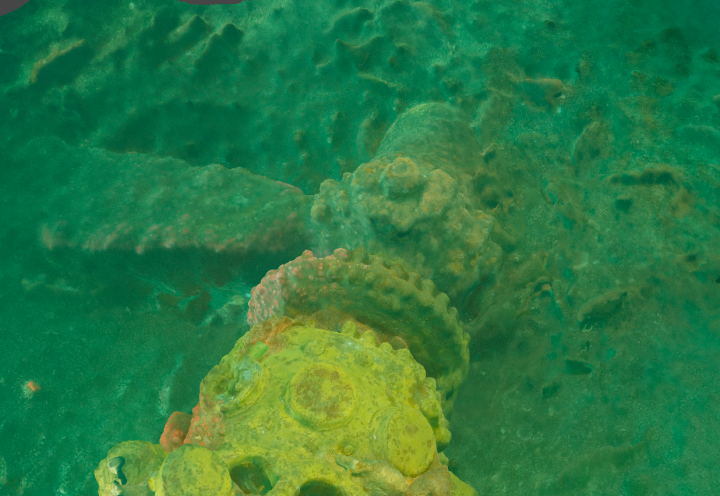 Using 3D photogrammetry models to identify wrecks